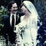 My wedding to Paul Growald, Seal Harbor, Maine, 1981.