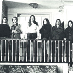 "Me (at center) as ""President of the School"" at Oldfields, with student council."