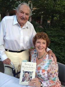 With my father at my first book signing at College of the Atlantic, Bar Harbor, Maine.