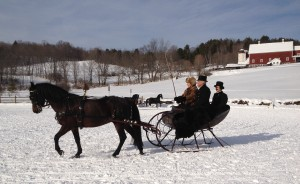 "My horse, ""Lucky,"" winning a Currier & Ives competition! South Woodstock, VT"