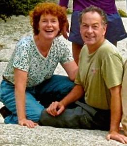 Richard and me on Saddleback